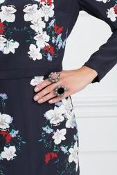 Кольцо с жемчугом и бархатом Gucci