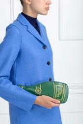 Кожаный клатч C - Campagne Charlotte Olympia
