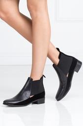 Кожаные ботинки See By Chloe