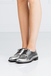 Ботинки из металлизированной кожи Bran Jimmy Choo