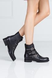 Кожаные ботинки Dover Jimmy Choo