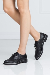 Ботинки из лакированной кожи Bran Jimmy Choo