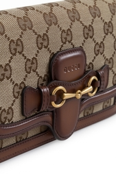 Кожаный кошелек Lady Web Gucci