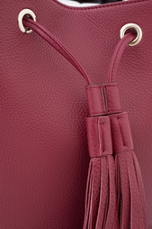 Кожаная сумка Miss Bamboo Gucci