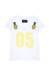 Хлопковая футболка Candyshop