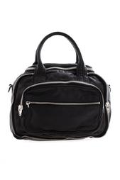 Кожаная сумка Alexander Wang