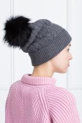 Шерстяная шапка с кашемиром и ангорой Graviteight