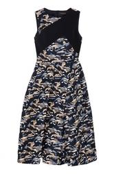 Платье с принтом Chapurin