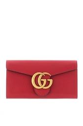 Кожаный кошелек GG Marmont Continental Gucci