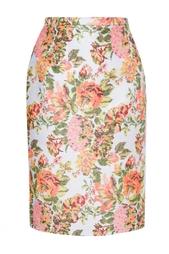 Юбка с цветочным принтом Stella Mc Cartney