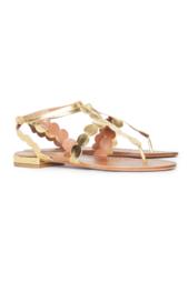 Кожаные сандалии Azzedine Alaïa