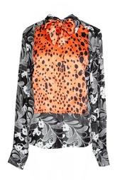 Блуза с длинными рукавами и принтом Duro Olowu