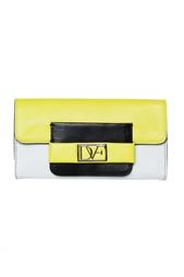 Кожаный кошелек Metro Flap Diane von Furstenberg