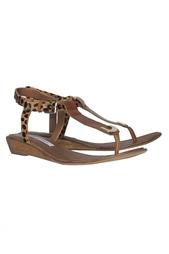 Кожаные сандалии Dion Diane von Furstenberg