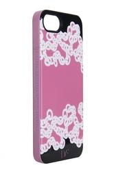 Чехол для iPhone 5 Chainlink Shadows Pink Diane von Furstenberg