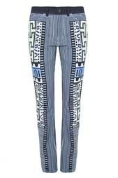 Хлопковые брюки Mary Katrantzou