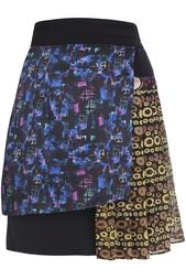 Шерстяная юбка Cher Michel Klein