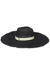 Шляпа из тесьмы и хлопка Maison Michel