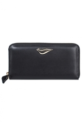 Кошелек Lips Zip Around Wallet Leather Diane von Furstenberg