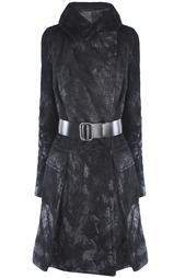Кожаное пальто Kaufmanfranco
