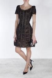 Платье из искусственного шелка Oscar de la Renta