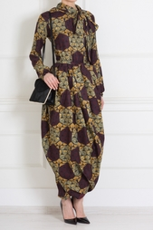 Шелковое платье Stella Jean