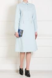 Платье из шерсти и ангоры Rochas