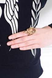 Бронзовое кольцо с празиолитом Bernard Delettrez