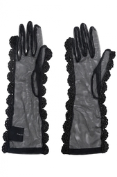 Перчатки из органзы Simone Rocha