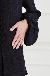 Кольцо из позолоченной латуни Eddie Borgo