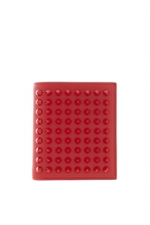 Кошелёк Рaros wallet calf/spikes Christian Louboutin