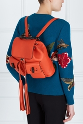 Кожаный рюкзак Bamboo Leather Backpack Gucci