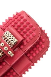 Сумка Sweety charity nu calf/spikes Christian Louboutin