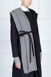 Однотонный шарф из шерсти и кашемира Bruuns Bazaar