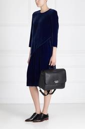Кожаная сумка-рюкзак Alena Akhmadullina