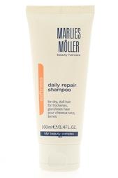Восстанавливающий шампунь для волос Volume 100ml Marlies Moller