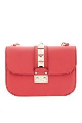 Кожаная сумка Lock Valentino