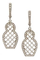 Серебряные серьги «Матрешка» с бесцветными топазами Axenoff Jewellery