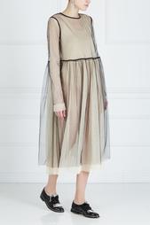 Полупрозрачное платье Les'