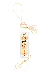 Елочная игрушка из белого шоколада Конфаэль