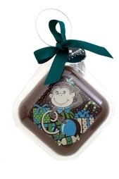 Елочная игрушка из горького шоколада Конфаэль