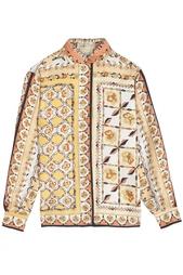 Шелковая рубашка (60-e гг.) Emilio Pucci