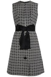 Платье из хлопка, шелка и серебряной нити (60-е гг.) Balmain