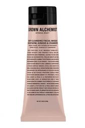 Очищающая маска для лица «Пшеница, гингко и клюква» 75ml Grown Alchemist