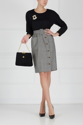 Замшевая сумка (60-е) Koret Vintage