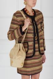 Замшевая сумка (90-е) Christian Lacroix Vintage
