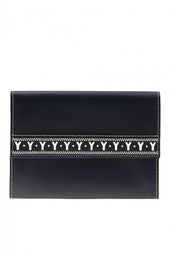 Кожаный кошелек (90-е) Yves Saint Laurent Vintage