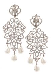 Серьги с кристаллами Royal Statemen Jewel Mania