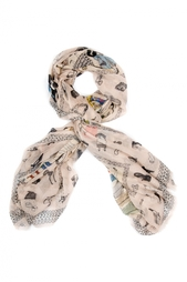 Кашемировая шаль «Мода XX века» Gourji