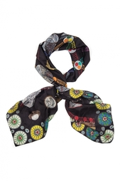 Шелковый платок «Метро» Gourji